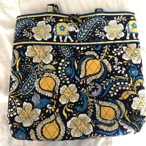 Vera Bradley tote bag in Ellie Blue